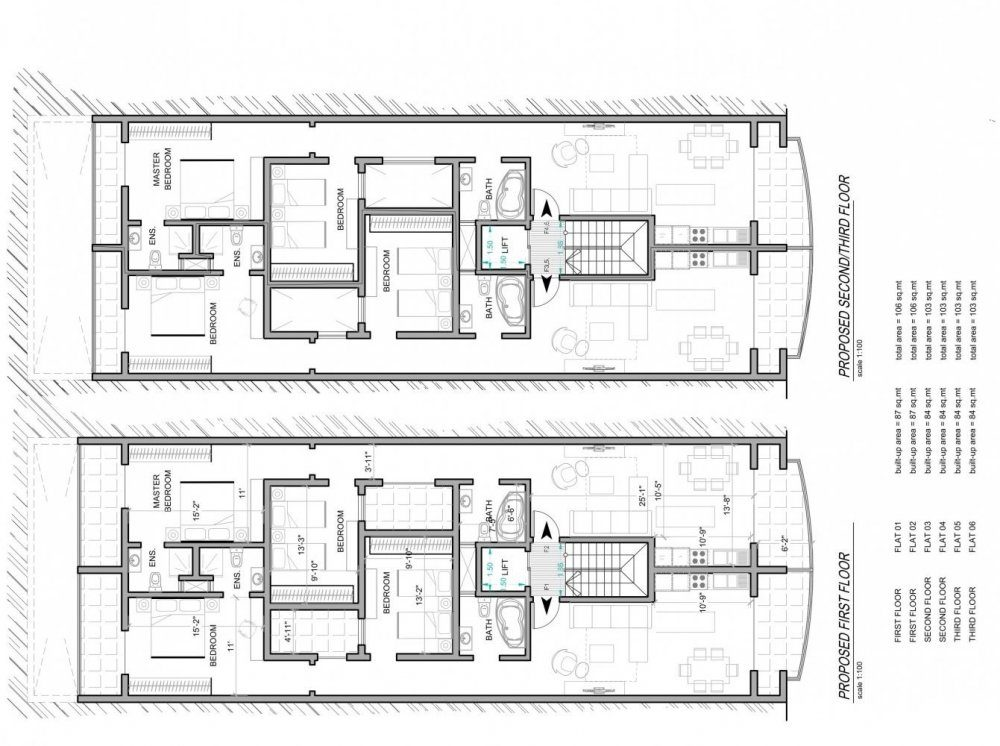 Inked02 - PROPOSED FIRST - SECOND & THIRD FLOOR-1_LI
