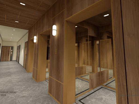 Corridor + Lift 6
