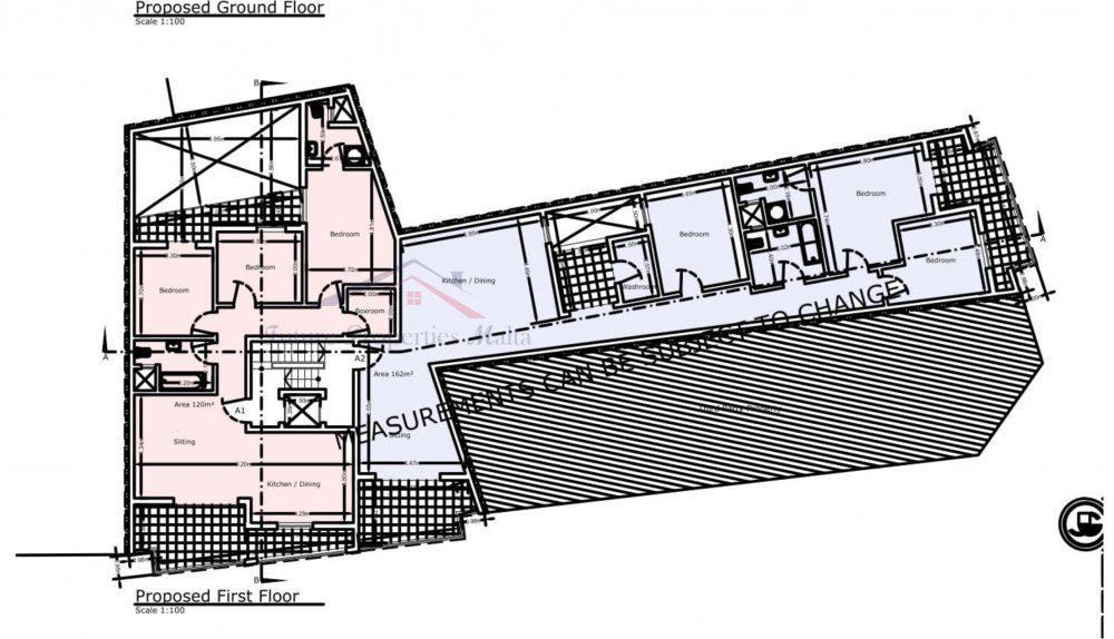 First Floor A1 - A2