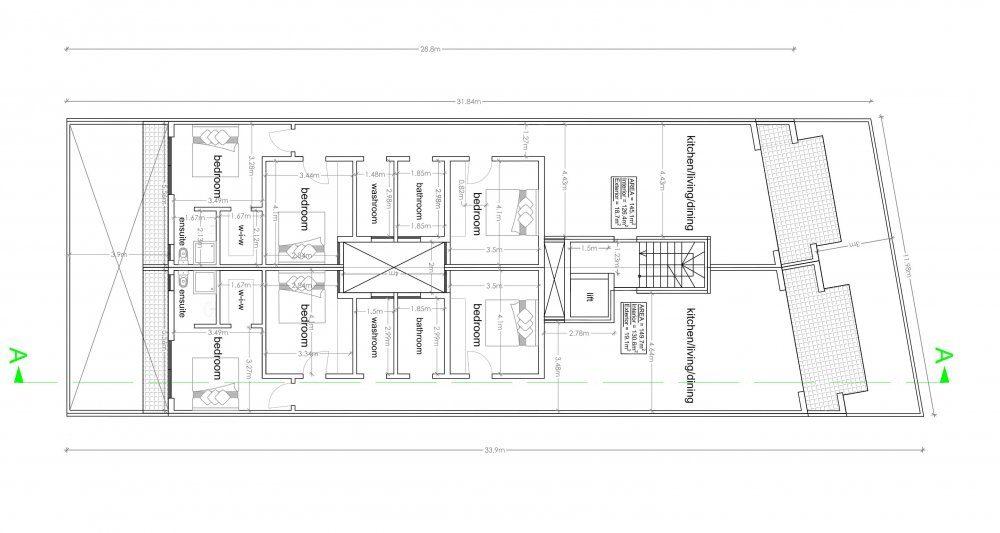 03 - 1st, 2nd & 3rd Floor Plan- triq Lapsi-1