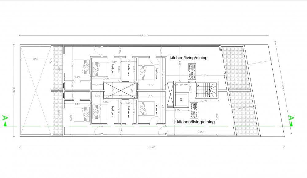 04 - Receded Floor Plan - Triq Lapsi-1