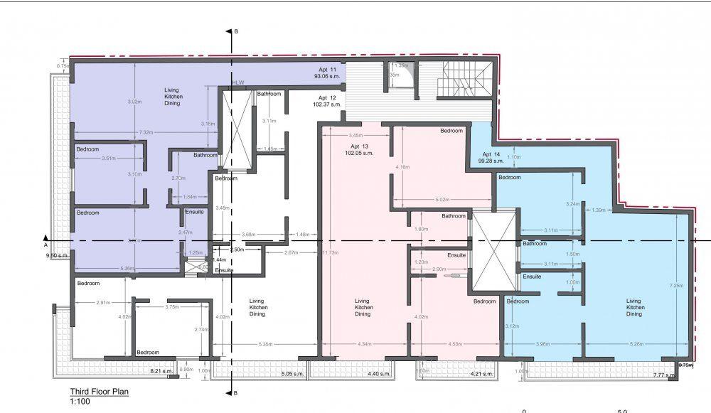 11_Proposed Third Floor Level-1