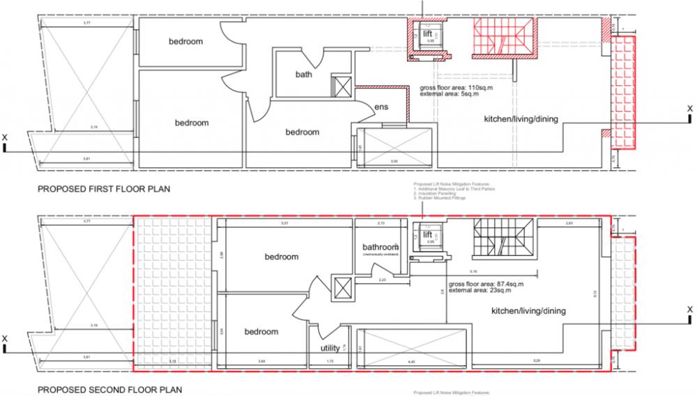 1st & 2nd Floor Iklin