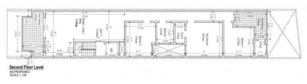 Osterley Second Floor Level