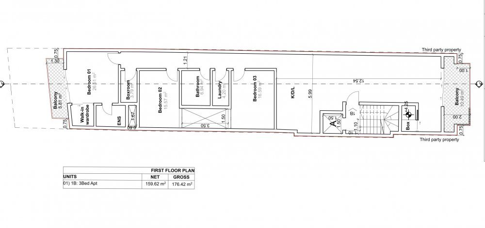 D003-01 Proposed First Floor Plan-1