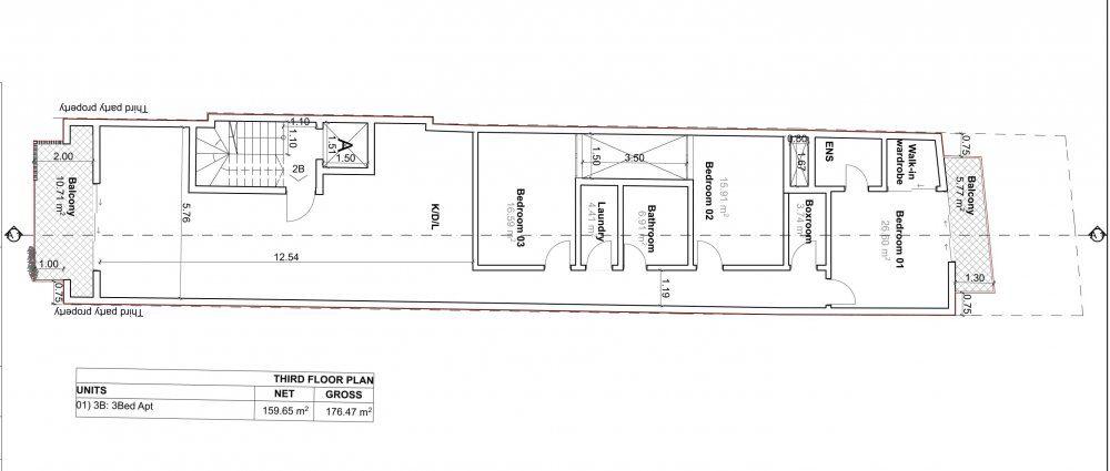 D005-01 Proposed Third Floor Plan-1