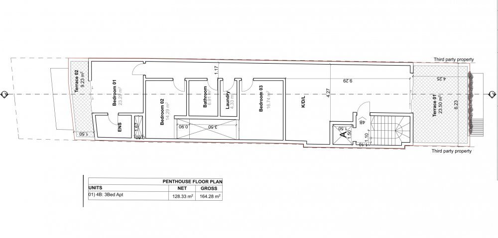 D006-01 Proposed PenthouseFloor Plan-1