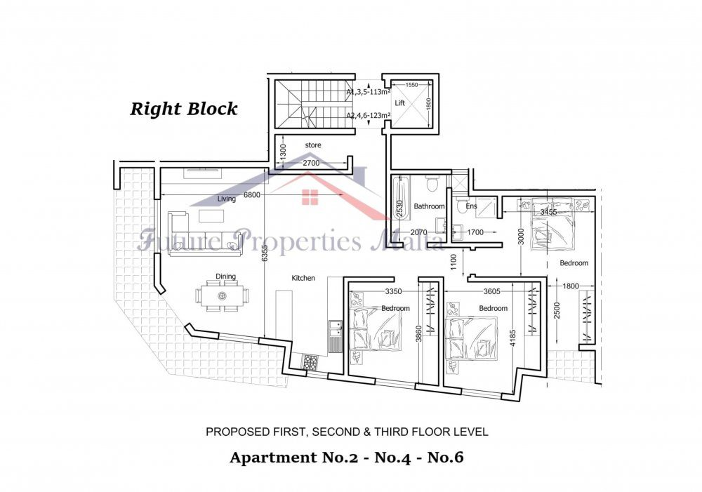 Proposed Typical Floor-1
