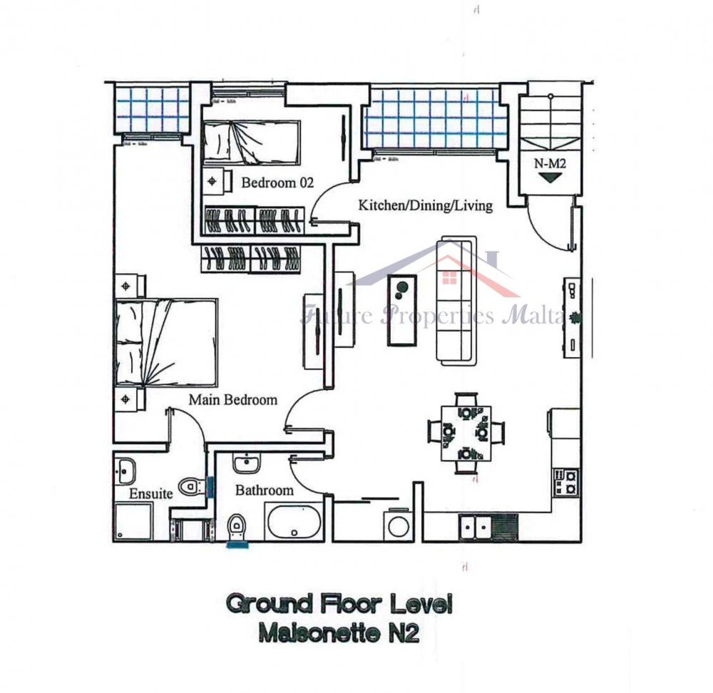 Ground Floor - Maisonette N2