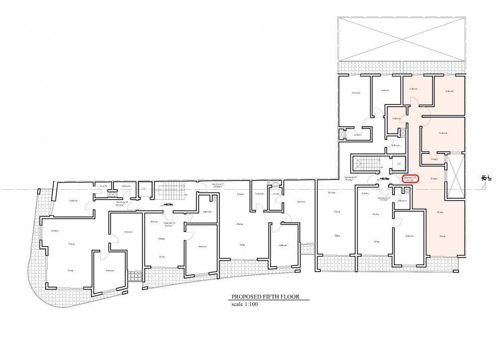Prot Ruman - Proposed Fifth Floor No.30