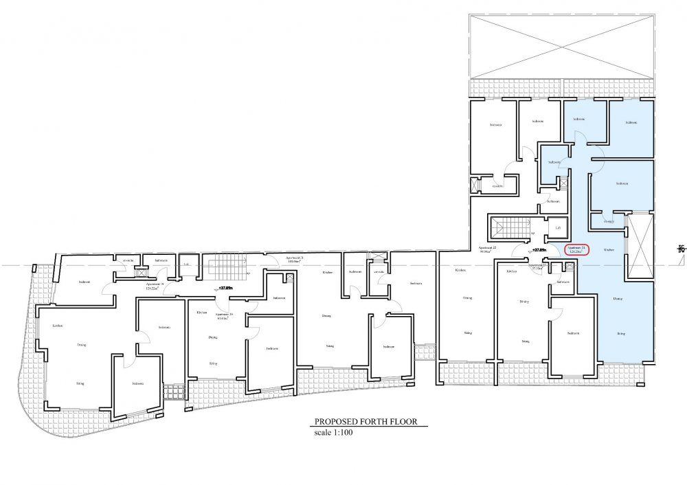 Prot Ruman - Proposed Fourth Floor No.24