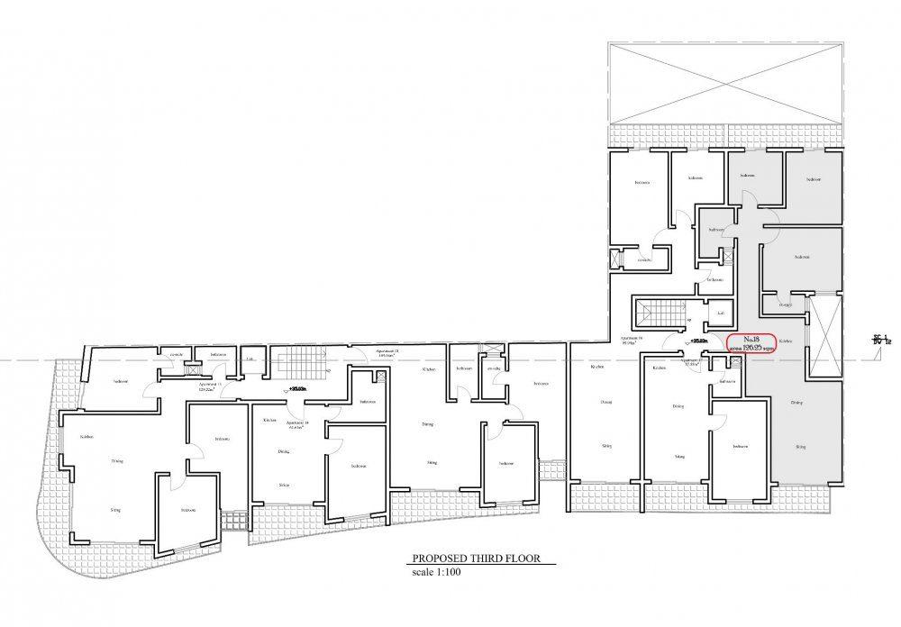 Prot Ruman - Proposed Third Floor No.18