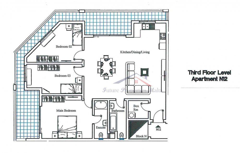 Third Floor - N12