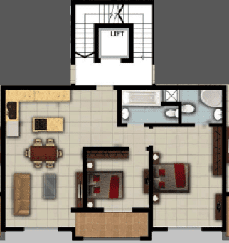 Apartment No. 5 - 8