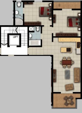 Apartment no 6 - 9 -12