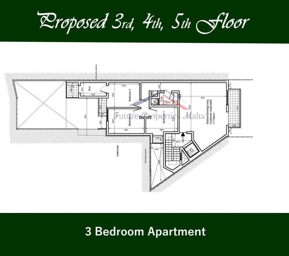 3rd - 4th - 5th Floor