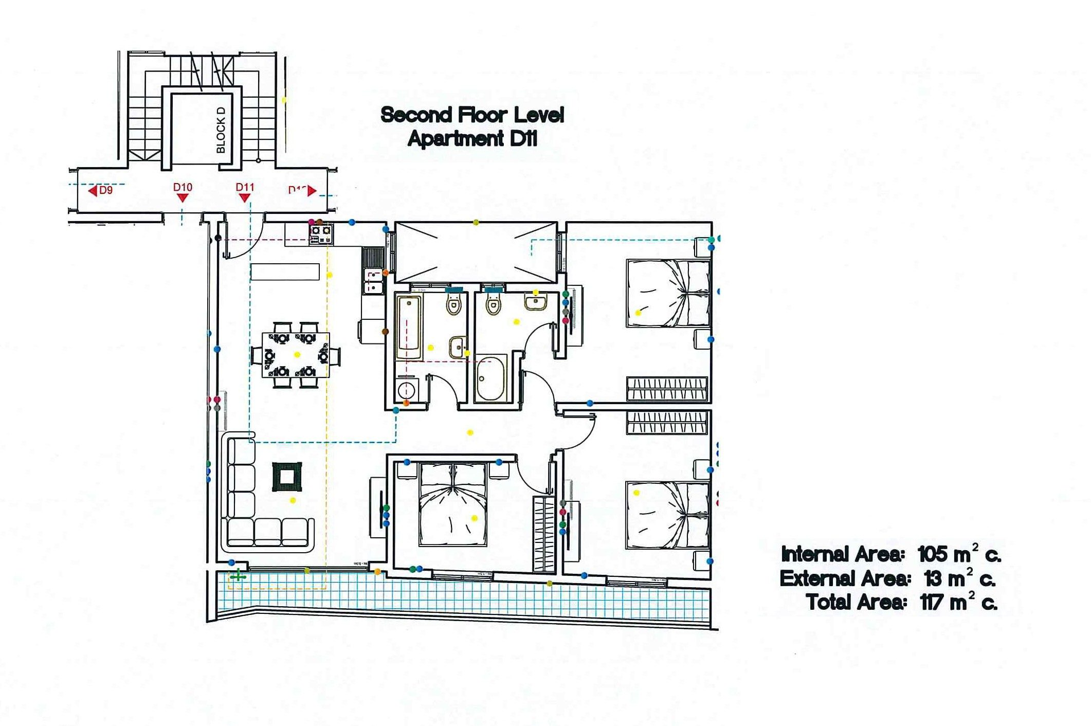 Block D - Second Floor D11
