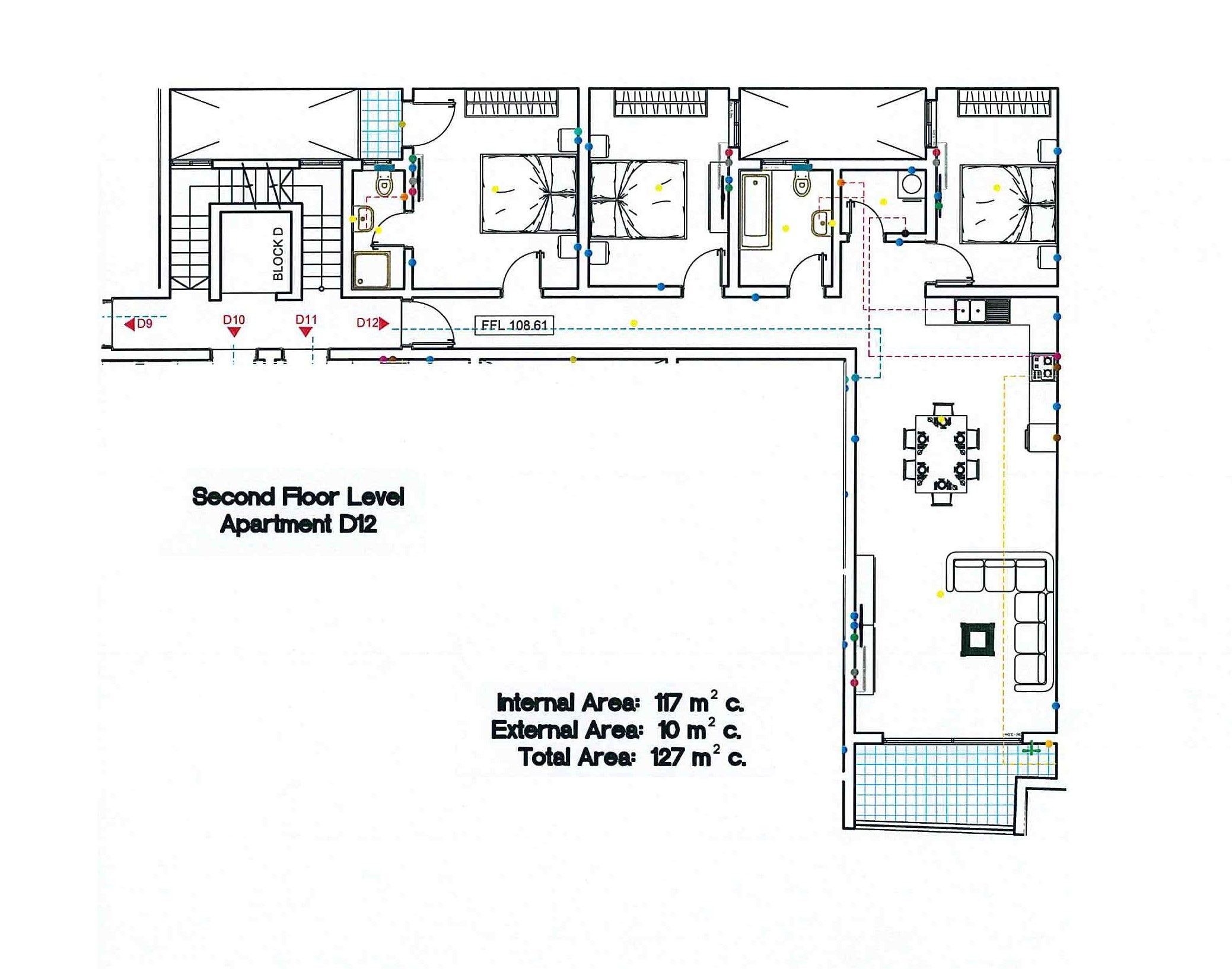 Block D - Second Floor D12