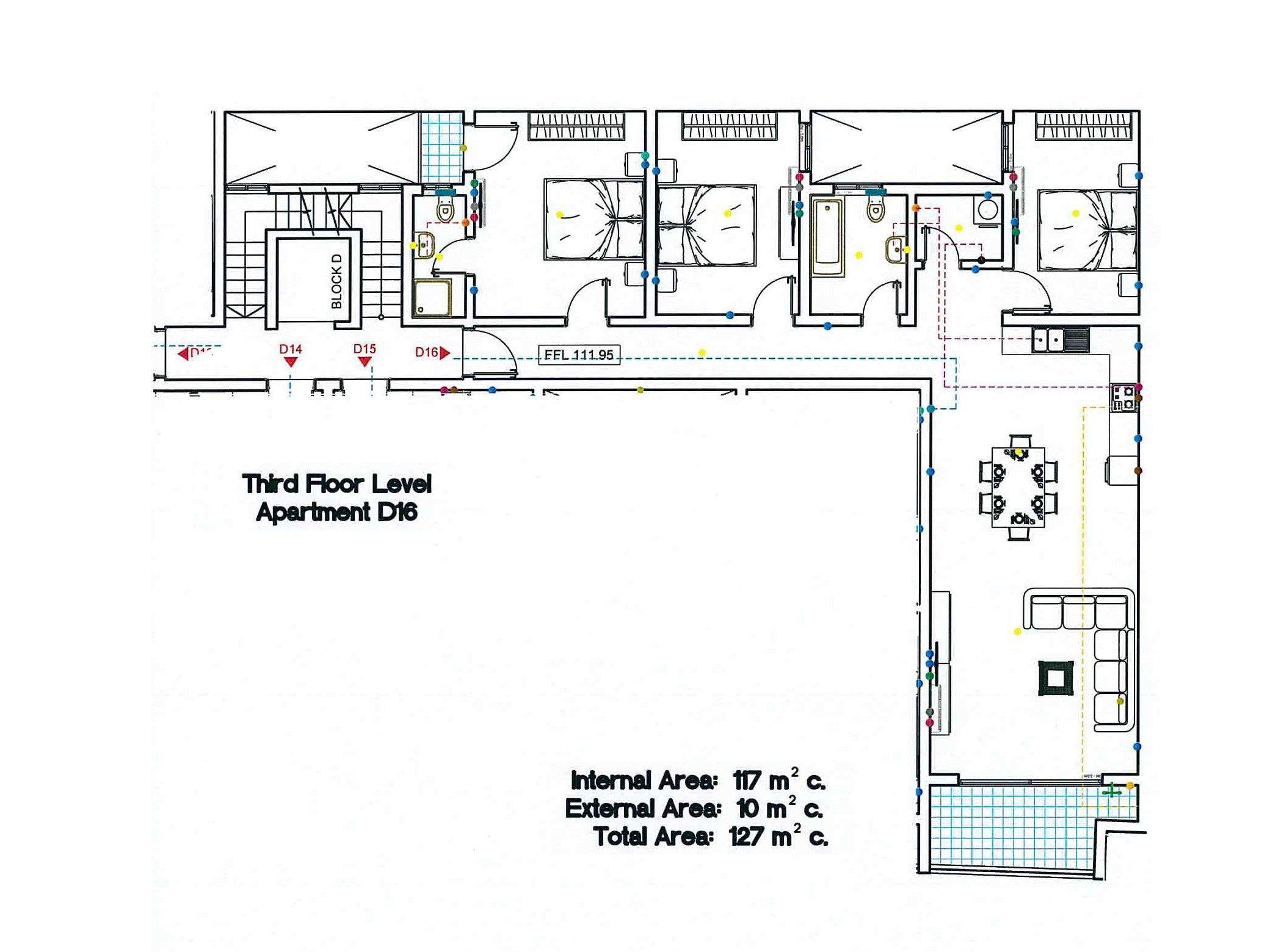 Block D - Third Floor D16