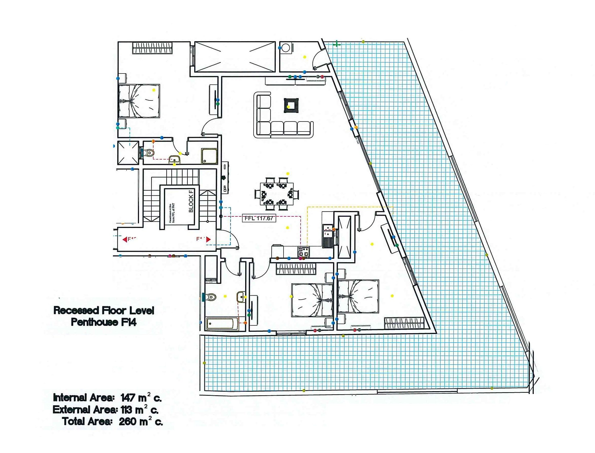 Block F - Penthouse F14