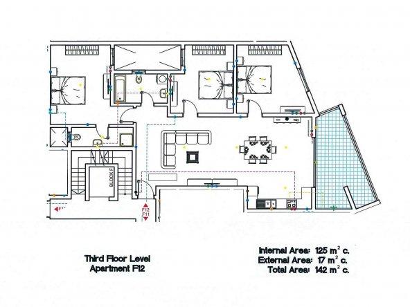 Block F - Third Floor F12