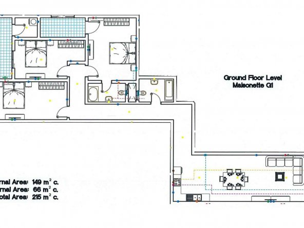 Block G - Ground Floor Maisonette G1