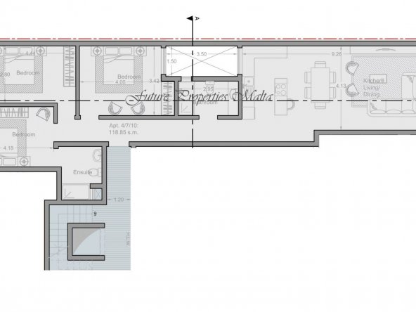 Apartment no 4 - 7 - 10
