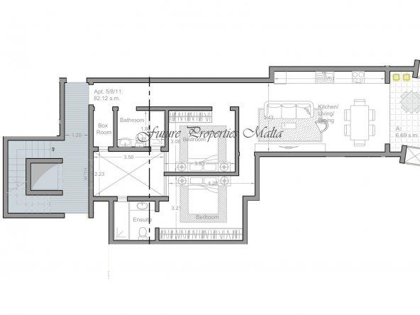 Apartment no 5 - 8 - 11