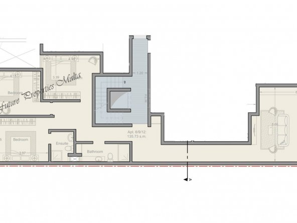 Apartment no 6 - 9 - 12