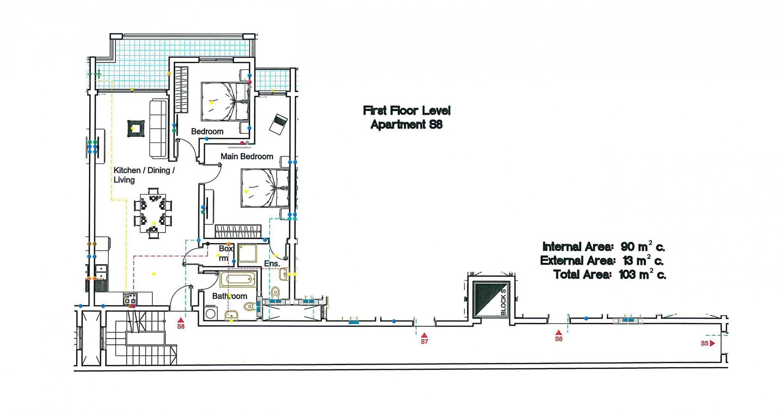 S8 First Floor