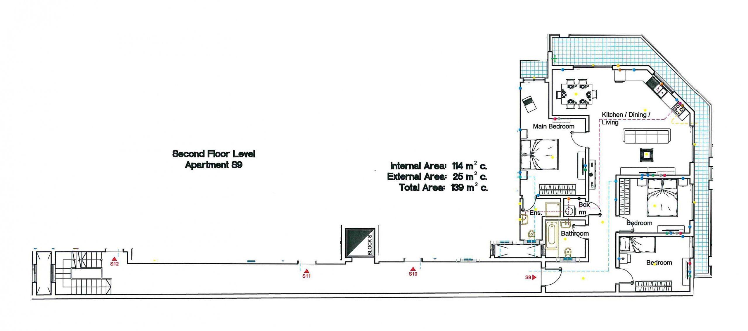 S9 Second Floor