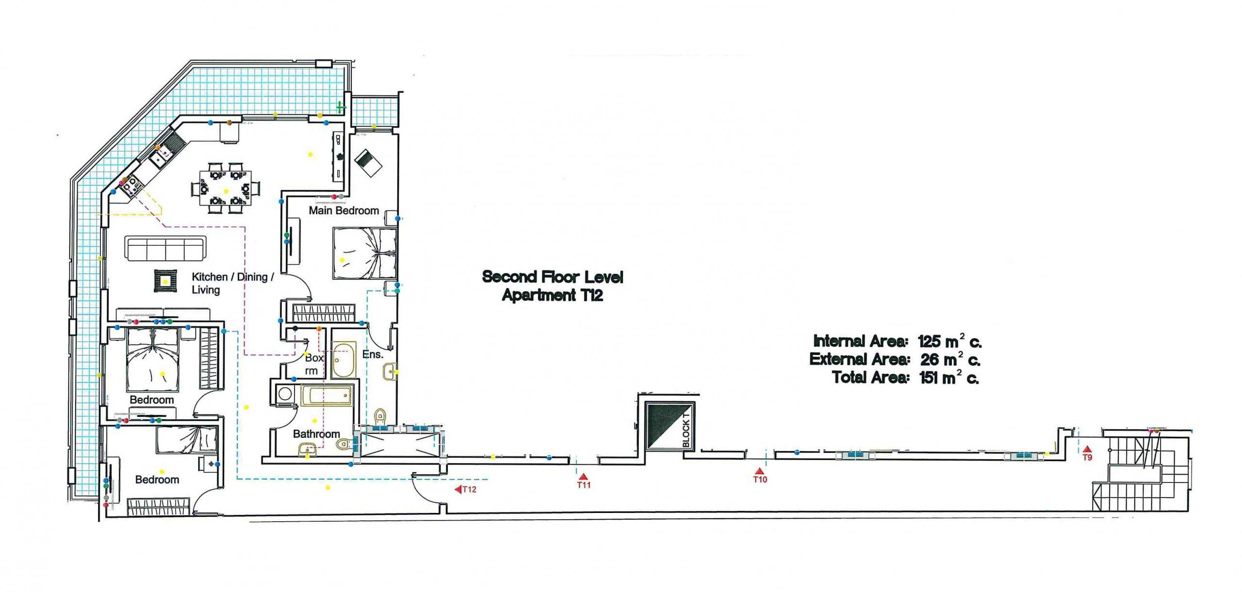 T12 Second Floor