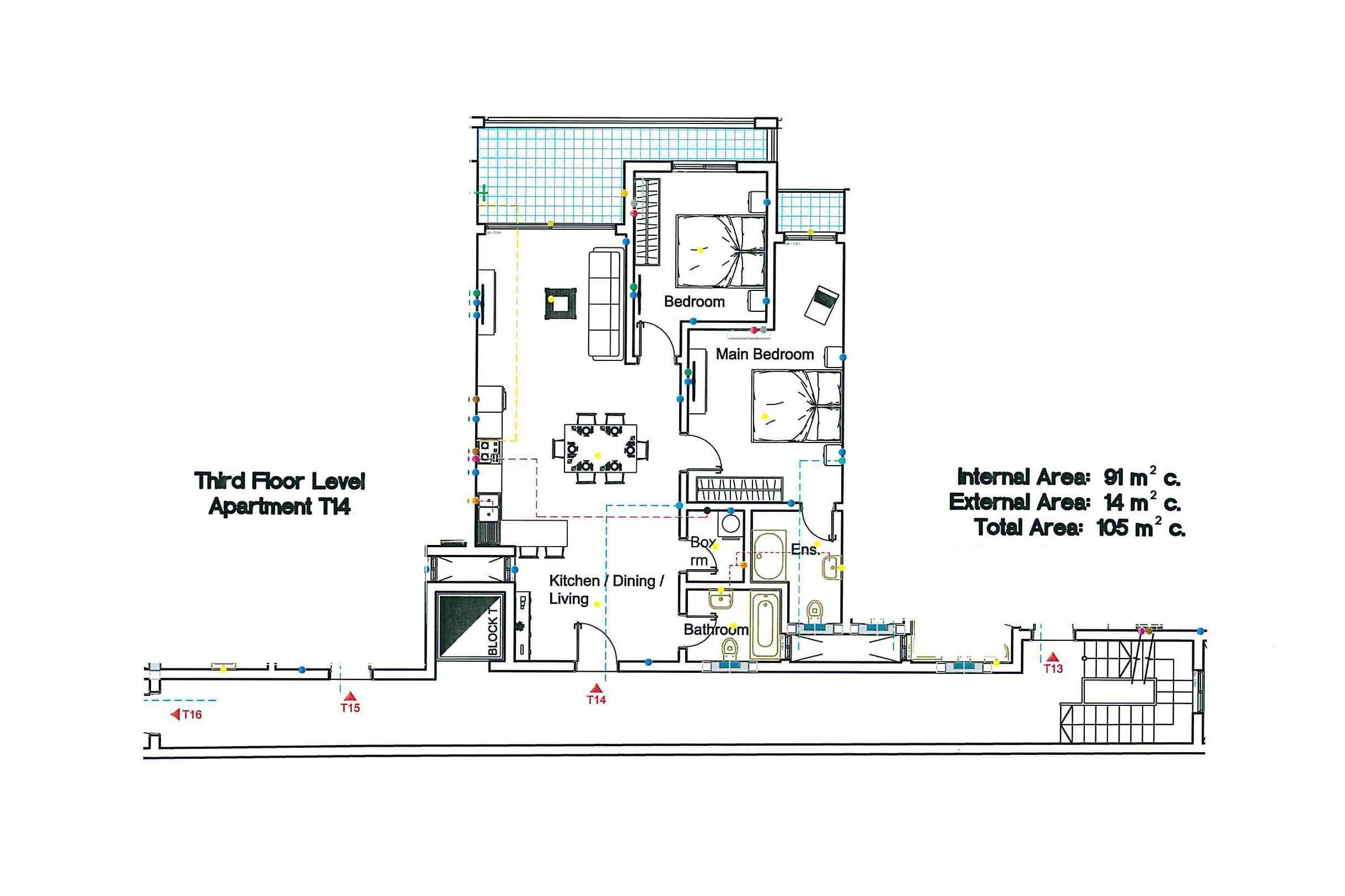 T14 Third Floor