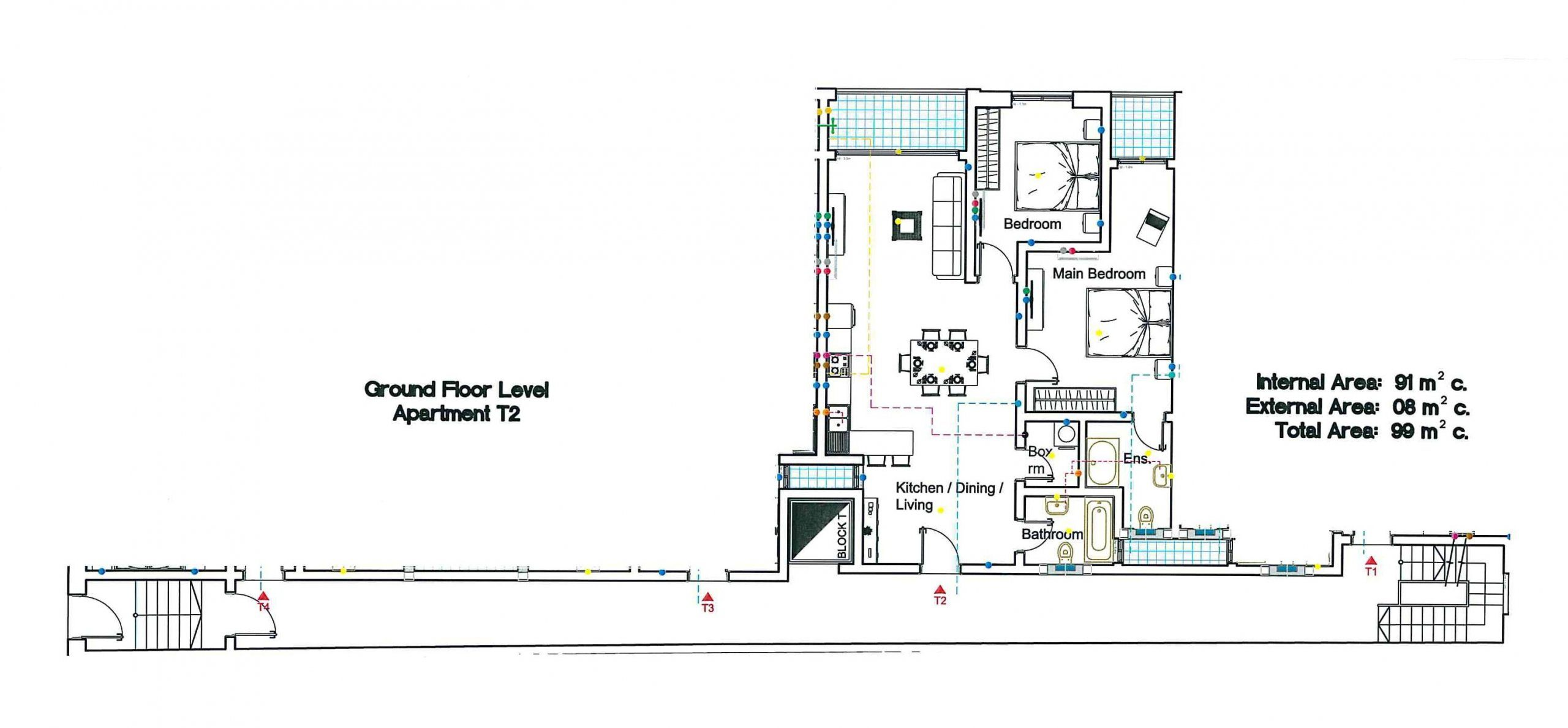 T2 Ground Floor