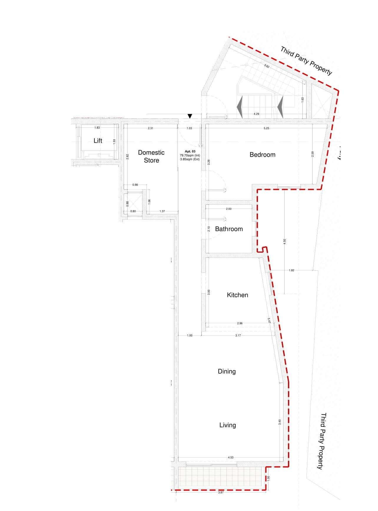 Level 1 apartment 3