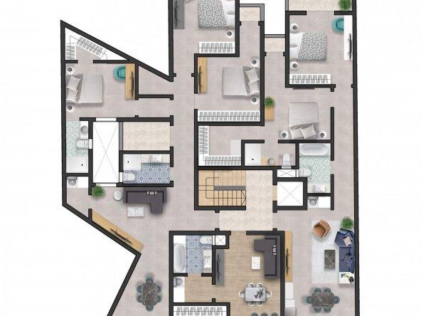 Typical floor Impression-1