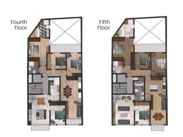 4th & 5th floors
