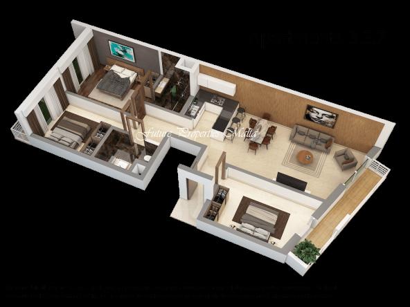 Apartment 3 , 5, 7