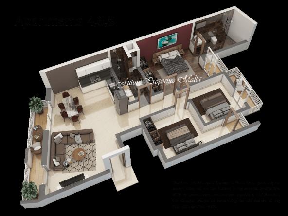Apartment 4, 6, 8