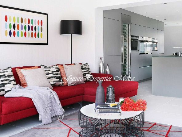 Red-sofa-gray-kitchen-5a19d18589eacc00373dc801