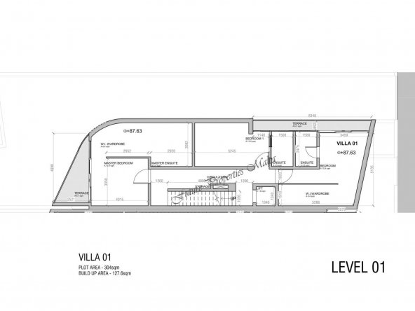 Villa 1 - First Floor