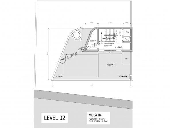 Villa 4 - Roof
