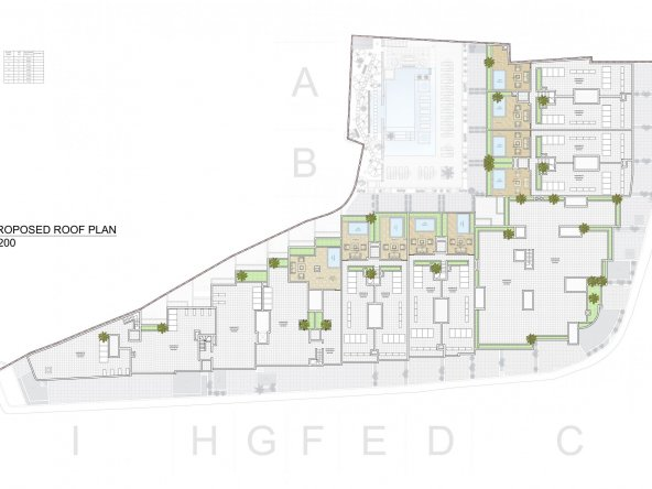 Proposed Roof Level A2-1
