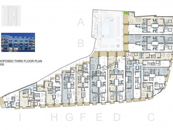 Proposed Third Floor Level-1