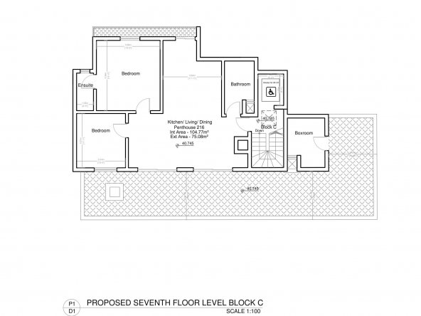 Block C Seventh Floor