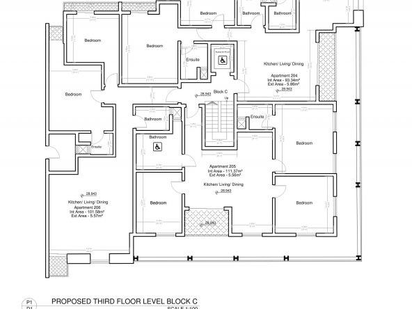 Block C Third Floor