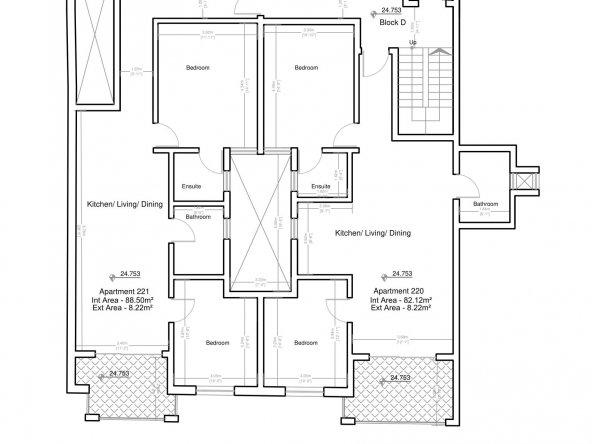 Block D Second Floor