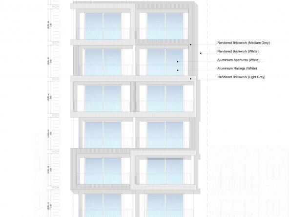 Drg 02 - Proposed Elevations & Sections (Triq Sant' Antnin)-1