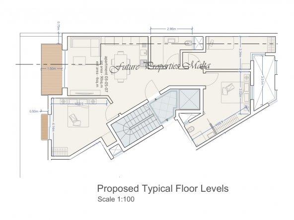 Apartments 3 - 5 - 6