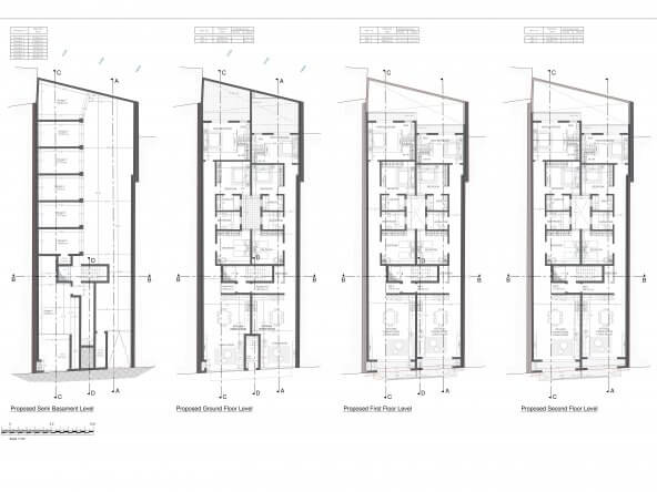 01_Proposed Semi Basament Level to Second Floor-1